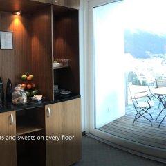 Отель Waldhotel Davos Швейцария, Давос - отзывы, цены и фото номеров - забронировать отель Waldhotel Davos онлайн удобства в номере
