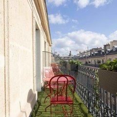 Отель Hôtel Bradford Elysées - Astotel Франция, Париж - 3 отзыва об отеле, цены и фото номеров - забронировать отель Hôtel Bradford Elysées - Astotel онлайн балкон