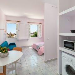 Апартаменты New Studio Flat In Old Town Rhodes Родос комната для гостей фото 3