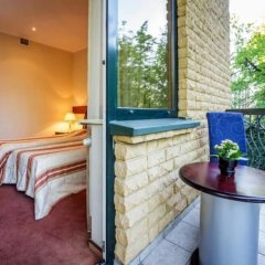 Отель Hof Hotel Sfinksas Литва, Каунас - отзывы, цены и фото номеров - забронировать отель Hof Hotel Sfinksas онлайн балкон