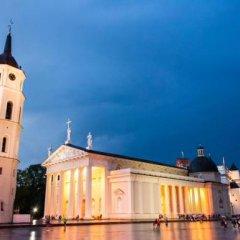 Отель SENATORIAI Литва, Вильнюс - 1 отзыв об отеле, цены и фото номеров - забронировать отель SENATORIAI онлайн вид на фасад