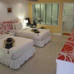Отель Ratchada Resort and Spa Hotel Таиланд, Бангкок - отзывы, цены и фото номеров - забронировать отель Ratchada Resort and Spa Hotel онлайн комната для гостей фото 2