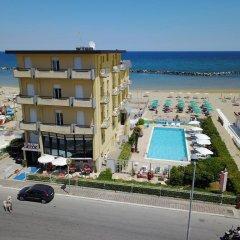 Hotel Biagini Римини пляж