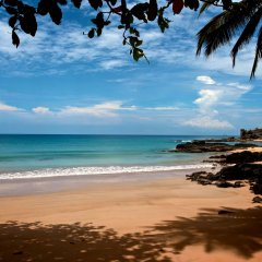 Отель Bom Bom Principe Island пляж фото 2