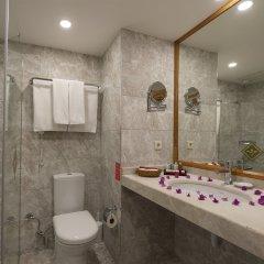 Miramare Queen Hotel Турция, Сиде - 1 отзыв об отеле, цены и фото номеров - забронировать отель Miramare Queen Hotel - All Inclusive онлайн ванная