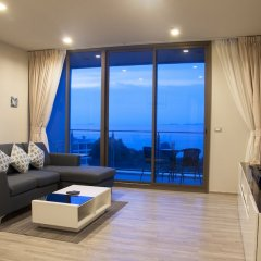 Отель Beachfront Sea View Baan Plai Haad Паттайя комната для гостей фото 2