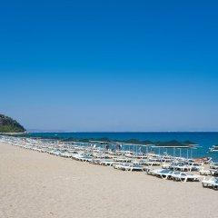 Larissa Inn Турция, Текирова - отзывы, цены и фото номеров - забронировать отель Larissa Inn - All Inclusive онлайн пляж