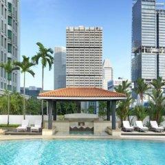 Отель Intercontinental Singapore бассейн фото 2
