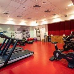 Гостиница Novotel Almaty City Center фитнесс-зал фото 3