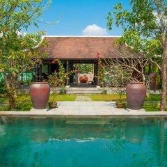 Отель Ao Lang Villa Хойан бассейн фото 2