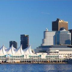Отель Howard Johnson Hotel by Wyndham Vancouver Downtown Канада, Ванкувер - отзывы, цены и фото номеров - забронировать отель Howard Johnson Hotel by Wyndham Vancouver Downtown онлайн приотельная территория