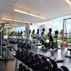Отель Millennium Hilton Bangkok Бангкок фитнесс-зал фото 3