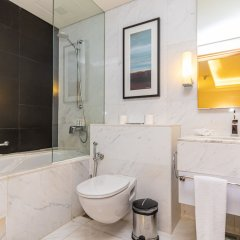 Отель Westminster Dubai Mall Дубай ванная фото 2