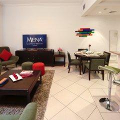 Отель MENA ApartHotel Albarsha комната для гостей фото 4