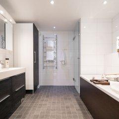 Отель Roost Ratakatu Финляндия, Хельсинки - отзывы, цены и фото номеров - забронировать отель Roost Ratakatu онлайн ванная