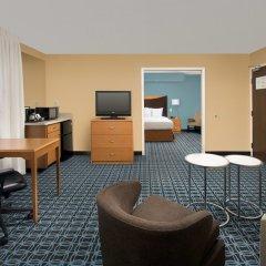 Отель Fairfield Inn & Suites by Marriott Albuquerque Airport интерьер отеля фото 2