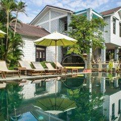 Отель Mr Tho Garden Villas бассейн