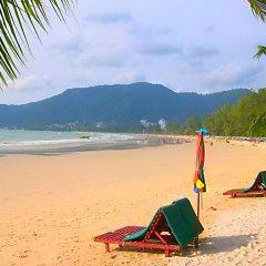 Отель Silver Resortel пляж