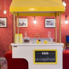 Отель Hôtel Le Grimaldi by Happyculture Франция, Ницца - 6 отзывов об отеле, цены и фото номеров - забронировать отель Hôtel Le Grimaldi by Happyculture онлайн интерьер отеля фото 3