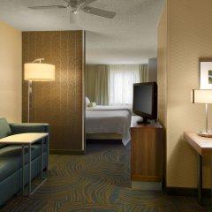 Отель Springhill Suites Columbus Airport Gahanna США, Гаханна - отзывы, цены и фото номеров - забронировать отель Springhill Suites Columbus Airport Gahanna онлайн комната для гостей