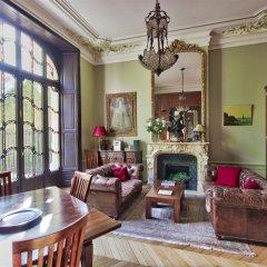 Апартаменты Luxury apartment - garden access Monceau комната для гостей фото 3