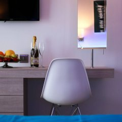 Les Palmiers Beach Hotel in Larnaca, Cyprus from 124$, photos, reviews - zenhotels.com in-room amenity