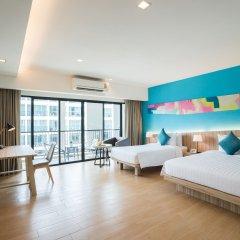 J Inspired Hotel Pattaya комната для гостей фото 3