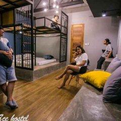 Silom Space Hostel Бангкок фитнесс-зал