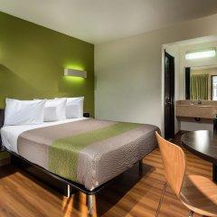 Отель Motel 6 Canoga Park США, Лос-Анджелес - отзывы, цены и фото номеров - забронировать отель Motel 6 Canoga Park онлайн комната для гостей фото 4