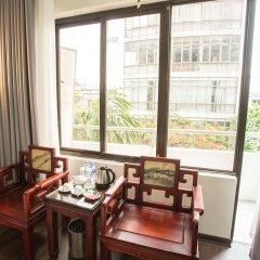 Отель My Lan Hanoi Hotel Вьетнам, Ханой - отзывы, цены и фото номеров - забронировать отель My Lan Hanoi Hotel онлайн балкон
