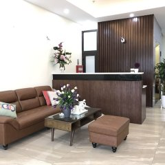Апартаменты Granda Quan Hoa Apartment интерьер отеля