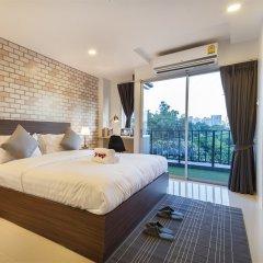 Отель Q Space Residence Бангкок комната для гостей фото 5