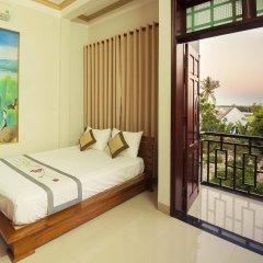 Отель Tra Que Flower Homestay комната для гостей