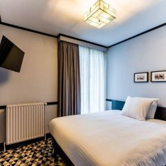 Отель Hôtel des Colonies Бельгия, Брюссель - 8 отзывов об отеле, цены и фото номеров - забронировать отель Hôtel des Colonies онлайн комната для гостей фото 5