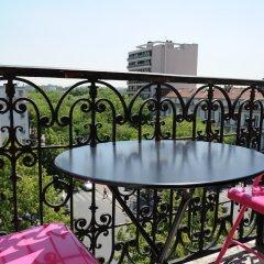 Отель Odessa Montparnasse Париж балкон