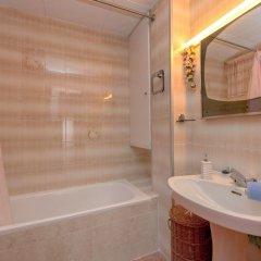 Отель Edificioo Garcomar I Испания, Калафель - отзывы, цены и фото номеров - забронировать отель Edificioo Garcomar I онлайн ванная