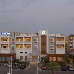 Kefalos - Damon Hotel Apartments Пафос вид на фасад