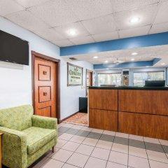 Отель Quality Inn Sarasota North интерьер отеля