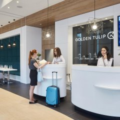 Отель Golden Tulip Warsaw Airport сауна