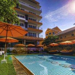 Отель New Nordic Marcus Таиланд, Паттайя - 12 отзывов об отеле, цены и фото номеров - забронировать отель New Nordic Marcus онлайн бассейн фото 2