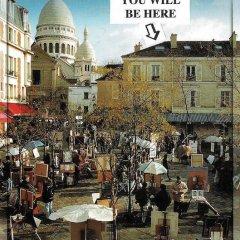 Отель Mansarde des Artistes Франция, Париж - отзывы, цены и фото номеров - забронировать отель Mansarde des Artistes онлайн фото 3