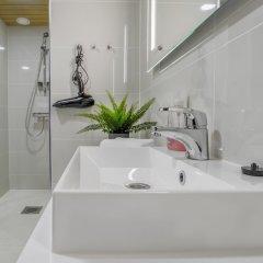 Апартаменты Kotimaailma Apartments Albertinkatu 27B ванная
