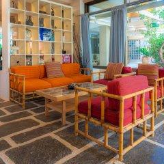 Отель Apollonia Hotel Apartments Греция, Вари-Вула-Вулиагмени - 1 отзыв об отеле, цены и фото номеров - забронировать отель Apollonia Hotel Apartments онлайн интерьер отеля фото 3