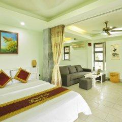 Отель Huyen Tra Que Homestay комната для гостей