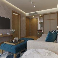 Отель Lusso Mare Черногория, Будва - отзывы, цены и фото номеров - забронировать отель Lusso Mare онлайн комната для гостей фото 5