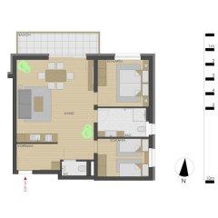 Отель Echt Woods Appartements Австрия, Зёлль - отзывы, цены и фото номеров - забронировать отель Echt Woods Appartements онлайн комната для гостей
