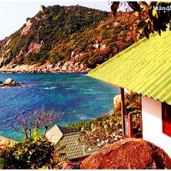 Отель Family Tanote Bay Resort Таиланд, Остров Тау - отзывы, цены и фото номеров - забронировать отель Family Tanote Bay Resort онлайн пляж фото 2