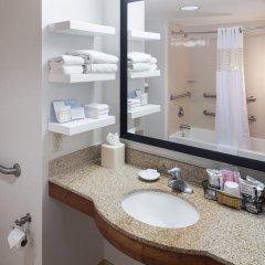 Отель Hampton Inn & Suites Tulare ванная