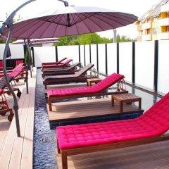 Отель Emirates Apart Residence София бассейн