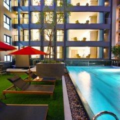 Отель M Pattaya Hotel Таиланд, Паттайя - отзывы, цены и фото номеров - забронировать отель M Pattaya Hotel онлайн бассейн фото 2